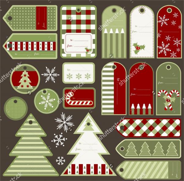 Variable Christmas Tags