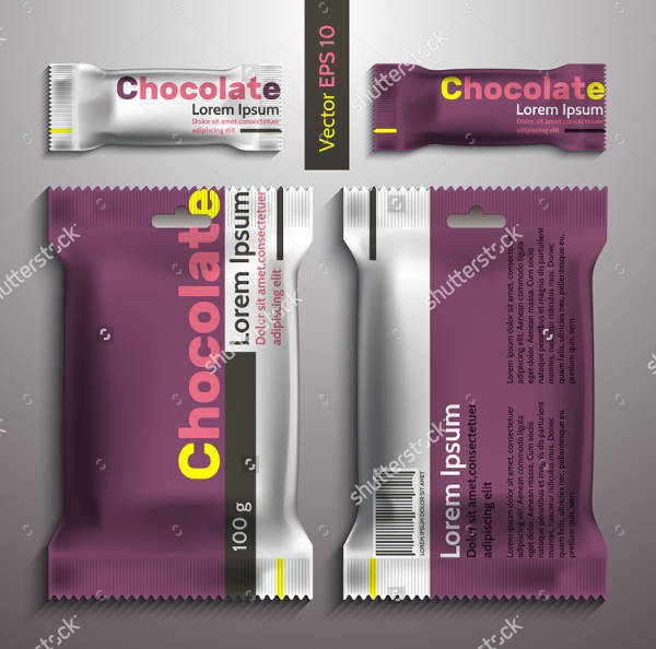 Vector Chocolate Packaging Design