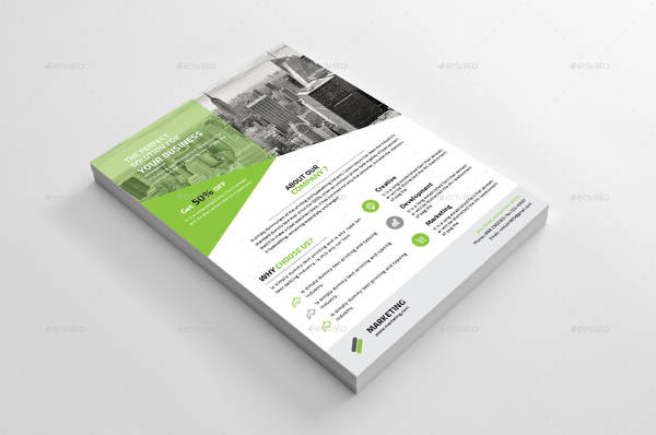 Vector EPS Business Flyer