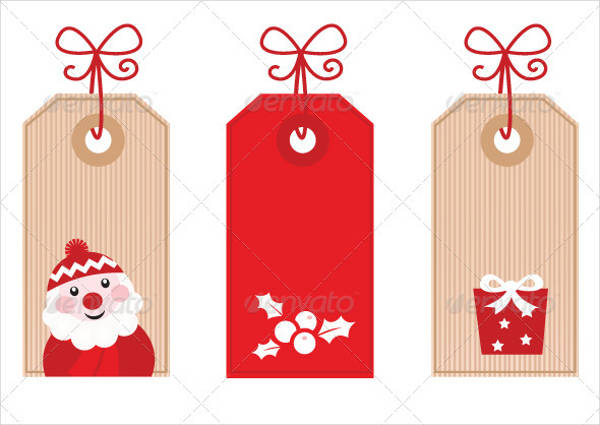 Vector EPS Gift Tags