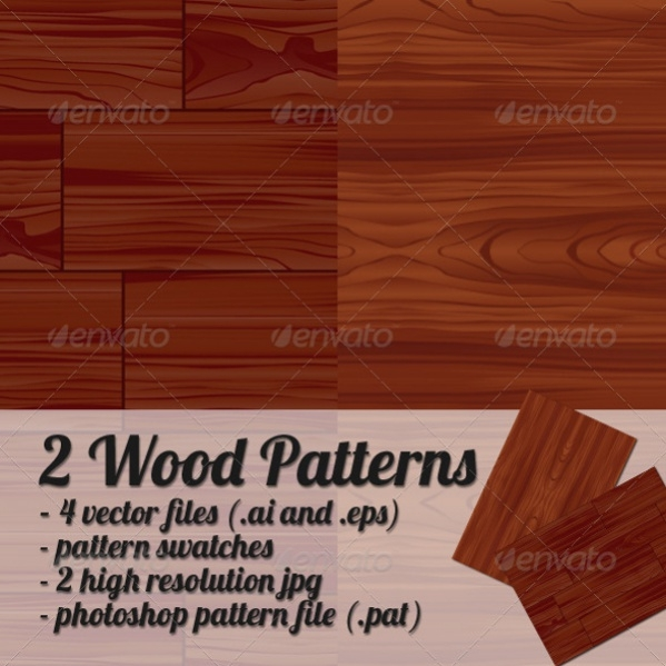 Vector EPS Wood PAtterns