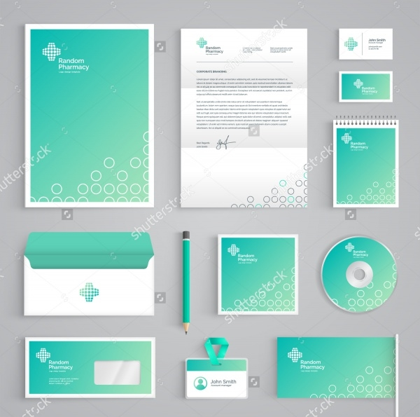 Vector Medical Stationery