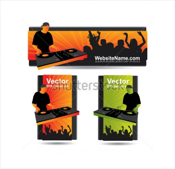 Vector Party Banner
