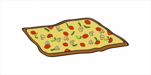 Vector Pizza Clipart