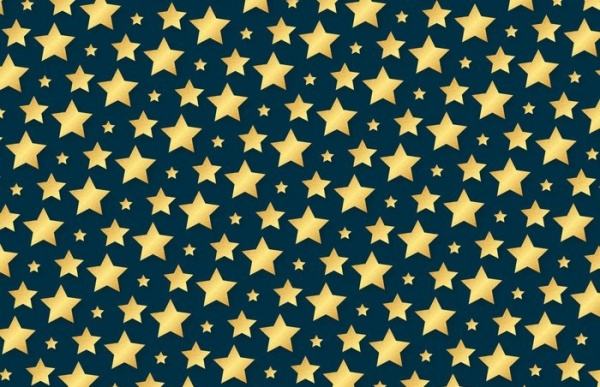 vector stars pattern design