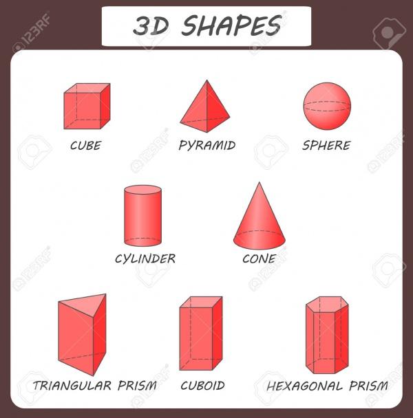 Vector Transparent 3D Shapes