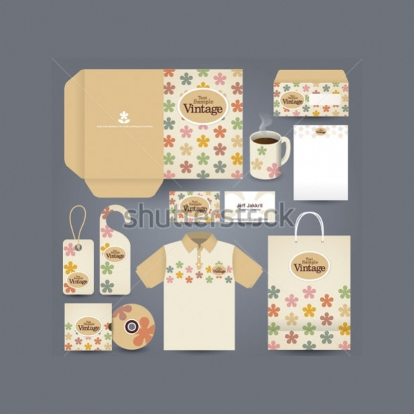 Vector Vinatage Stationery
