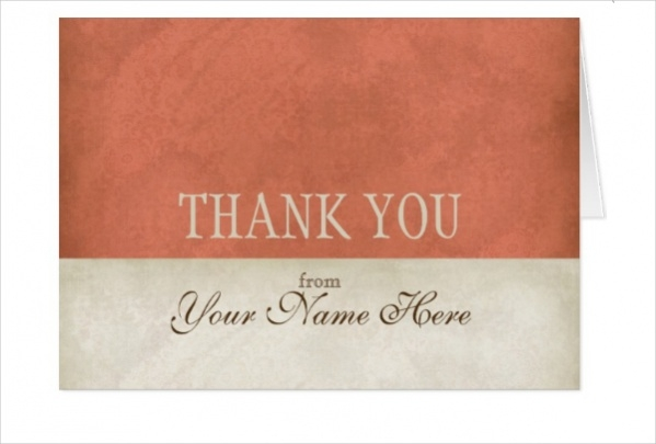 Vintage Business Thank You Notes