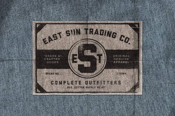 Vintage Clothing Label Design