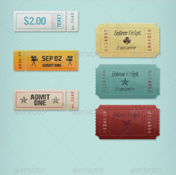 Vintage Event Tickets