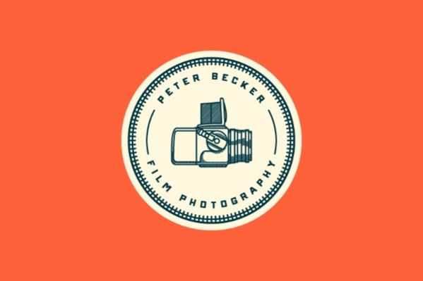 Vintage Film Photography Logo