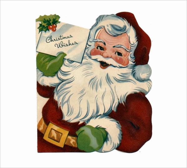 Vintage Santa Clipart