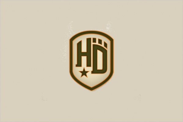 Vintage Shield Logo