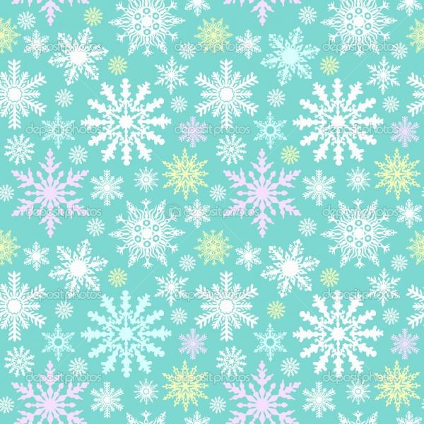 Vintage Snowflake Pattern Design