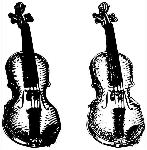 Violin Music Clipart