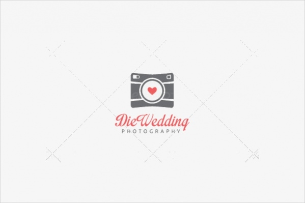 Wedding Bride Photography Logo