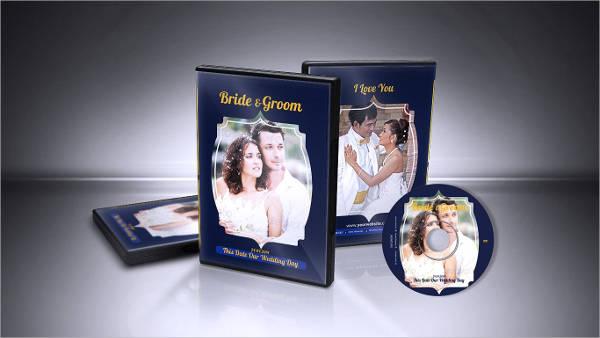 Wedding Cd Label Design