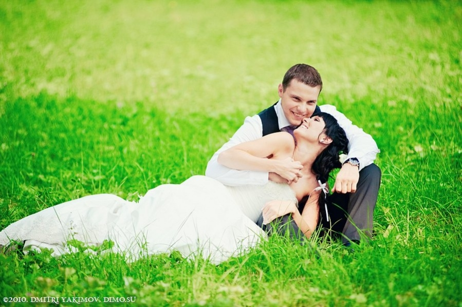 Wedding Photography In Greenery