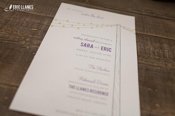 Wedding Rehearsal Invite