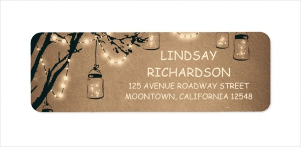 Wedding Return Address Label