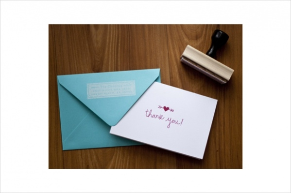 Wedding Thank You Card For Free