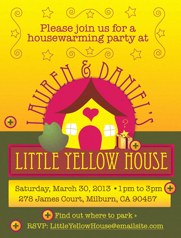 Wonderful Housewarming Party Invitation