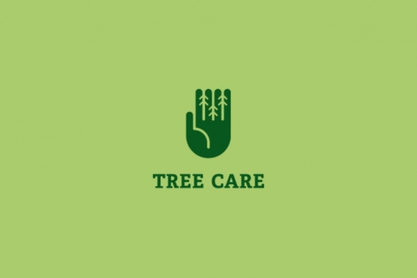 carpentry Pine Tree Logo