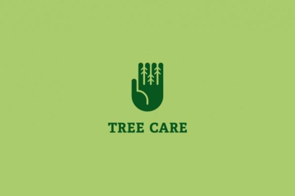 carpentry Pine Tree Logo