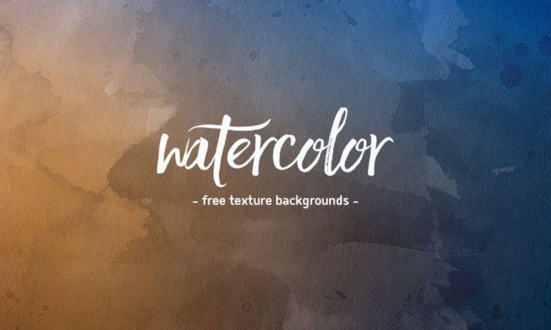 Downloadable Watercolor Textures Pack