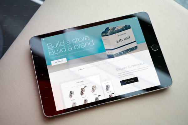 iPad Screen Mockup
