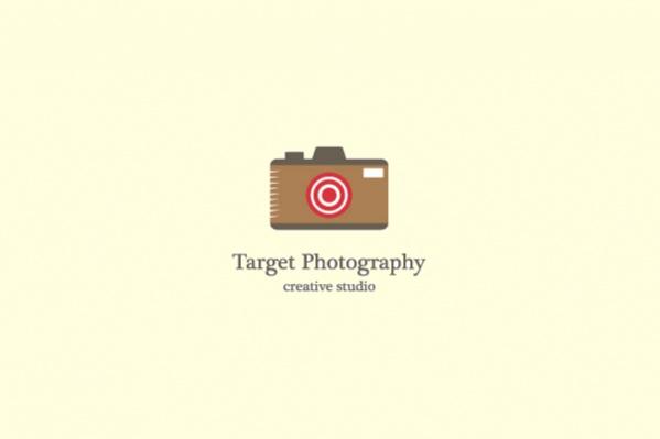picture frame target Logo