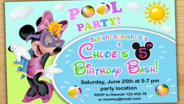 21 Amazing Pool Party Invitations JPG PSD AI Word