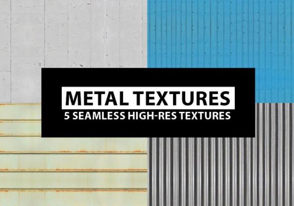 High Resolution Seamless Metal Textures