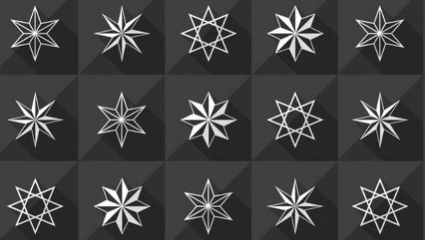 40 Star Patterns JPG PSD AI Illustrator Download Simple Star Patterns