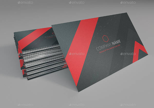 3d business card mockup