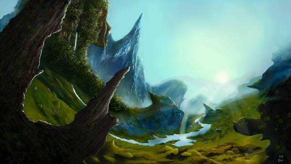 3D Landscape Painting