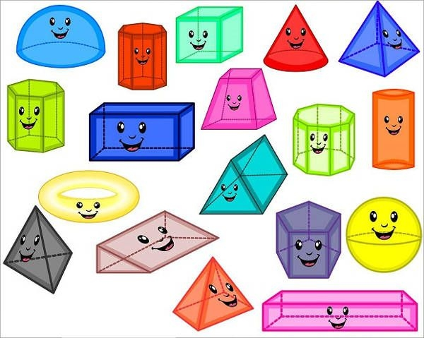 8 3d shapes free printable vector eps csh format download rh freecreatives com 3d shape clipart black and white 3d shape clip art free