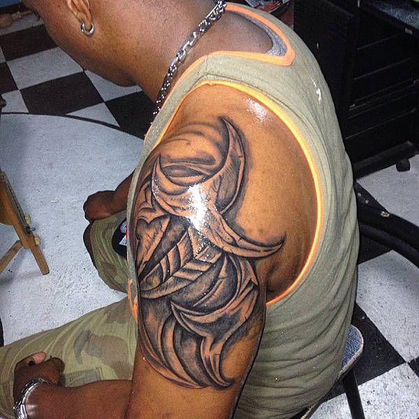 3D Tribal Tattoo