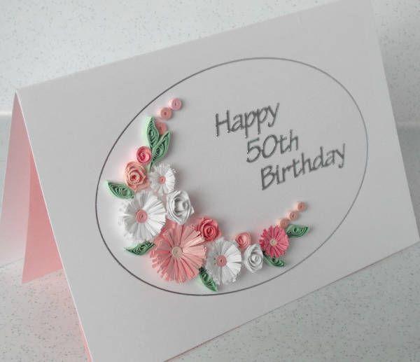 50th Birthday Card Idea