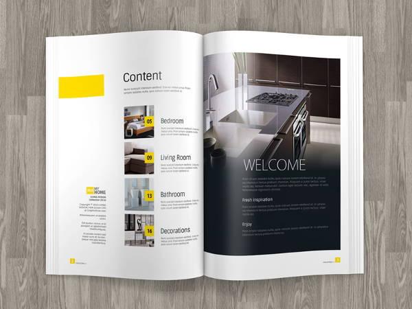 A4 Magazine Mockup Design