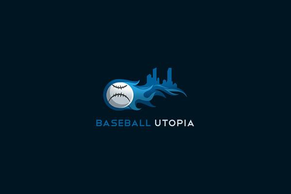 Abstract Baseball Sports Logo