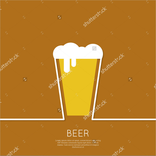 Abstract Beer Logo Design