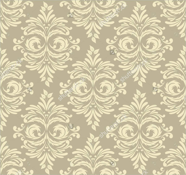 Abstract Damask Pattern