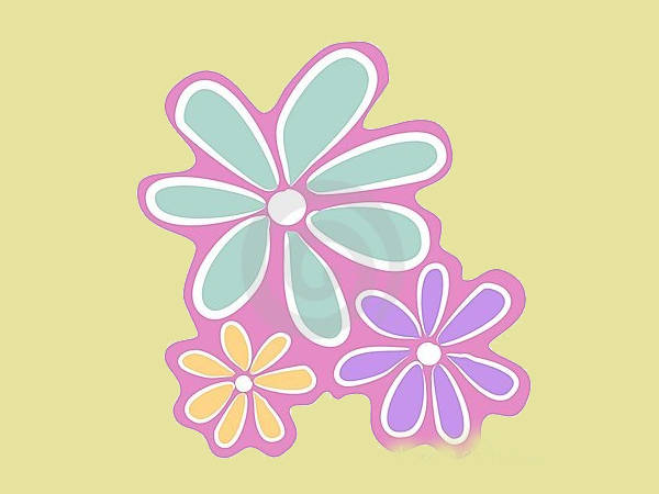 Abstract Flower Clipart