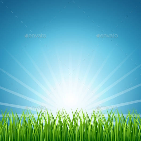 Abstract Grass Vector