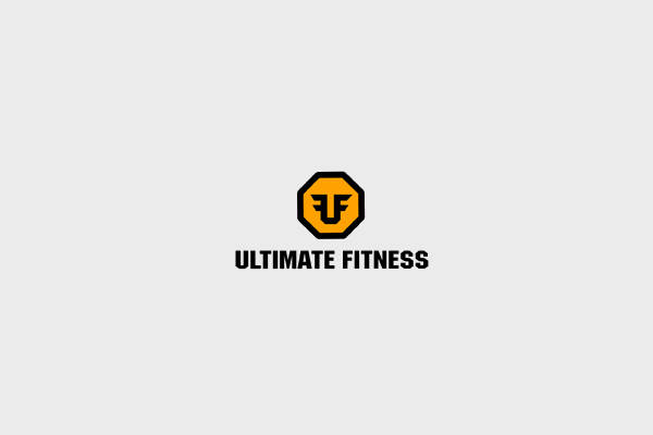 abstract logo for fitness