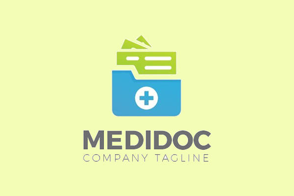 Abstract Medical Logo