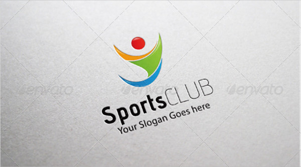 abstract sports logo