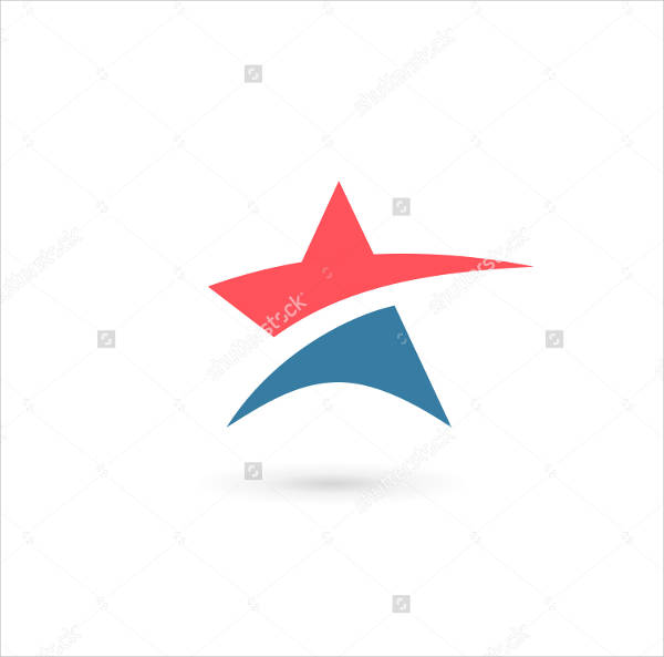 Abstract Star Logo