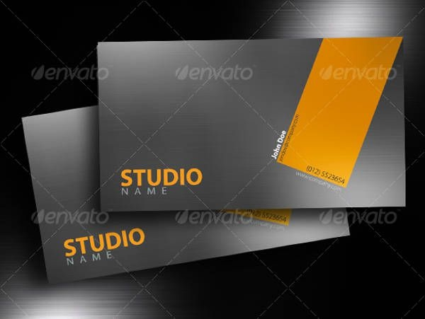 Aluminium Business Cards